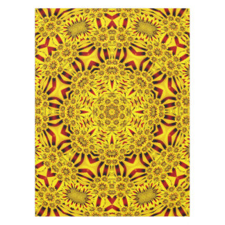 Marigolds Colorful Cotton Tablecloth
