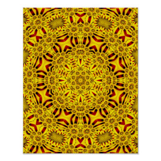 Marigolds Colorful Posters