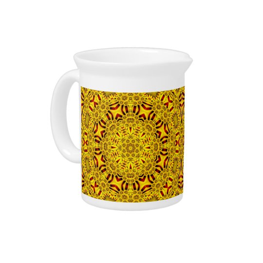 Marigolds Colourful Pitcher