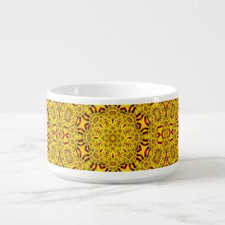 Marigolds Kaleidoscope   Chili Bowls
