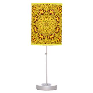 Marigolds Kaleidoscope Colorful Table Lamp