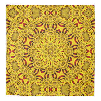 Marigolds Kaleidoscope   Duvet Covers