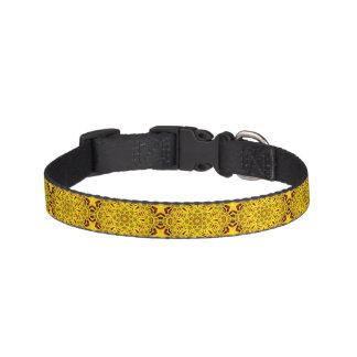 Marigolds Tiled Dog Collars