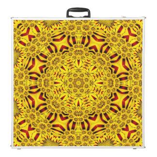 "Marigolds  Vintage Kaleidoscope 96""  Pong Table"