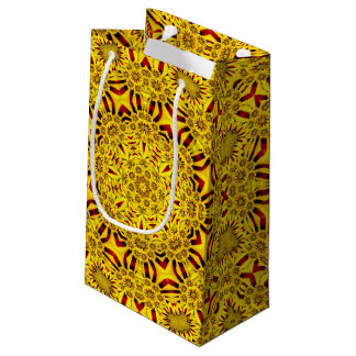 Marigolds Vintage Kaleidoscope Small Gift Bag