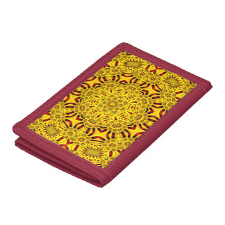 Marigolds  Vintage Kaleidoscope Wallets