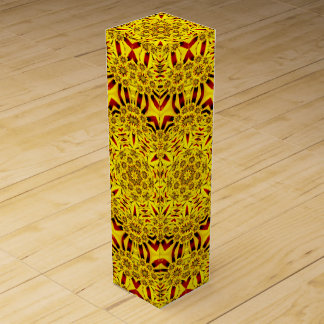 Marigolds Vintage Kaleidoscope  Wine Gift Box