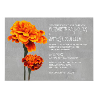 Marigolds Wedding Invitations