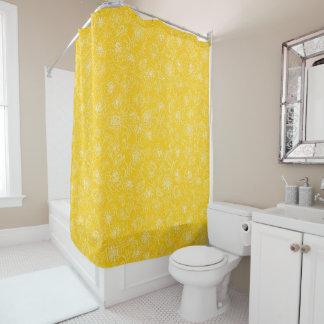 Marigolds white on yellow