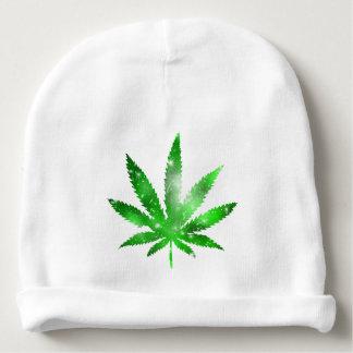Marijuana Galaxy Design Baby Beanie