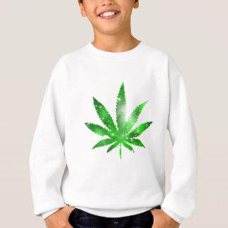Marijuana Galaxy Design Sweatshirt
