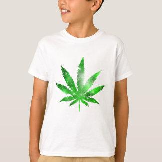 Marijuana Galaxy Design T-Shirt