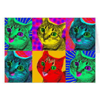 Marilyn Cats: Greeting Card