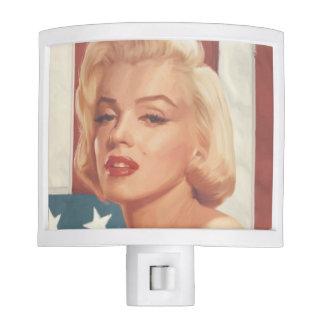 Marilyn Flag Nite Lights