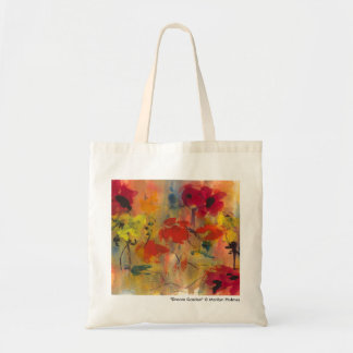 "Marilyn Holmes Original Art ""Dream Garden"" Tote Bag"