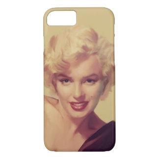 Marilyn in Black iPhone 7 Case