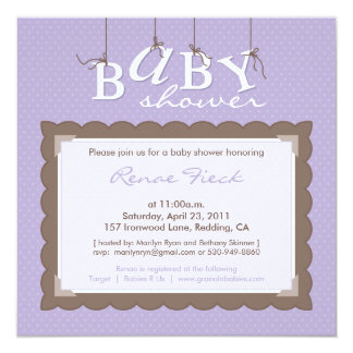 marilyn ryan :: BABY SHOWER INVITES
