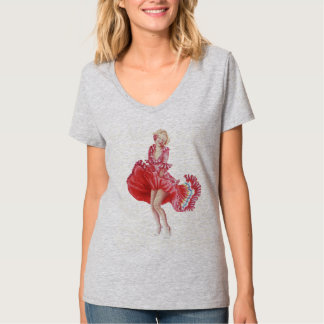 Marilyn t-shirt with Colombian Touch