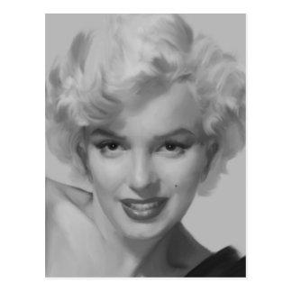 Marilyn the Look Postcard