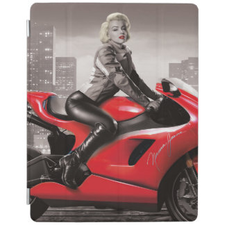 Marilyn's Motorcycle iPad Cover