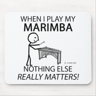 Marimba Nothing Else Matters Mouse Pad