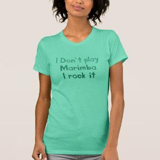 Marimba Rock It T-shirt - Ladies