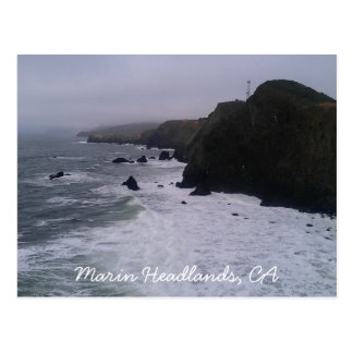 Marin Headlands, CA postcard