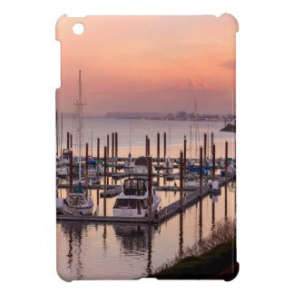 Marina along Columbia River at Sunset in Oregon iPad Mini Case