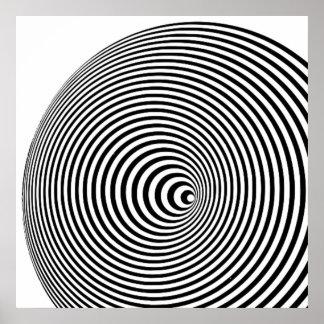 Marina Apollonio Print (Black and White)