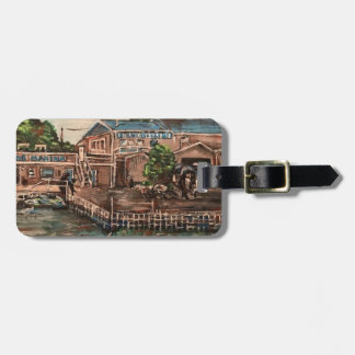 """Marina at Portside, Kelley's Island  Luggage Tag"