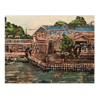 Marina at Portside, Kelley's Island, Ohio Postcard