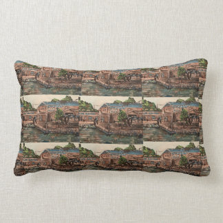"""Marina at Portside, Kelley's Island  Pillow"