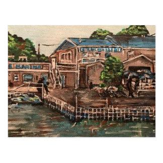"""Marina at Portside, Kelley's Island "" Postcard"