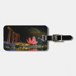 Marina Bay, Singapore Luggage Tag