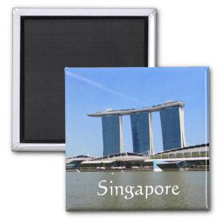 marina bay singapore square magnet