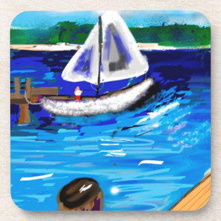 Marina Beverage Coaster