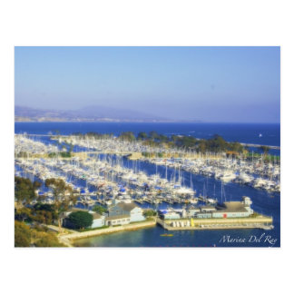 Marina Del Ray Postcards
