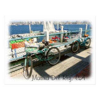 Marina Del Rey Postcard! Postcard