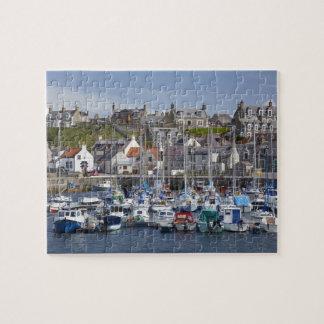Marina, Findochty, Moray, Scotland, United Jigsaw Puzzle