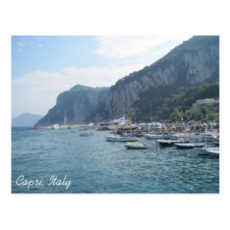 . Marina Grande, Capri, Italy Postcard