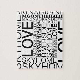 Marina Grande Love Squared Jigsaw Puzzle