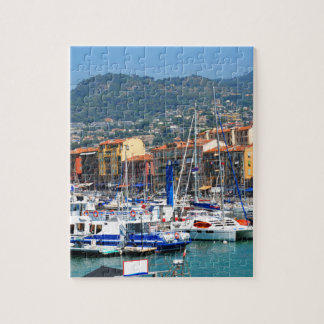 Marina in Nice, France Puzzle