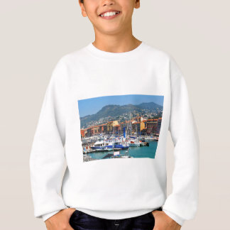 Marina in Nice, France Sweatshirt