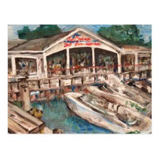 Marina in Western Basin, Kelley's Island Postcard