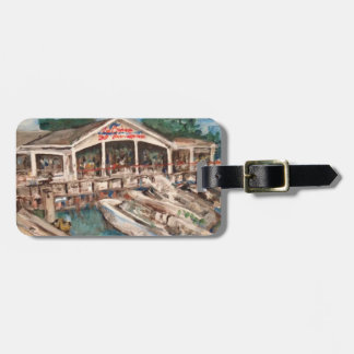 Marina in Western Basin, Kelley's Luggage Tag