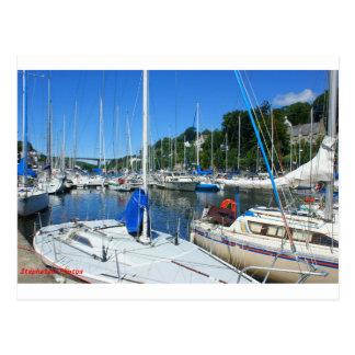 Marina of Morlaix BRITTANY FRANCE Postcard