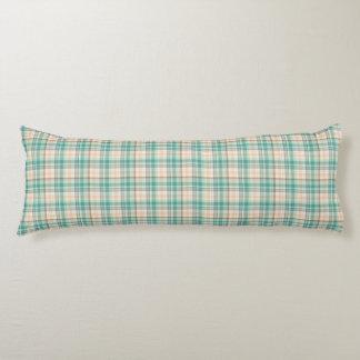 Marina Plaid Body Pillow