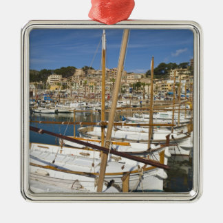 Marina, Port de Soller, West coast, Mallorca, Metal Ornament