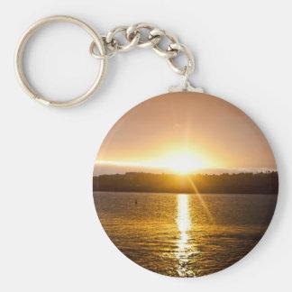 Marina Sunrise Key Chains