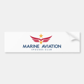 Marine Aviation Spouses Club Bumper Sticker